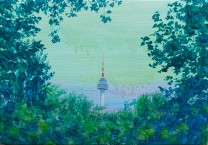 남산 타워 the Namsan Tower